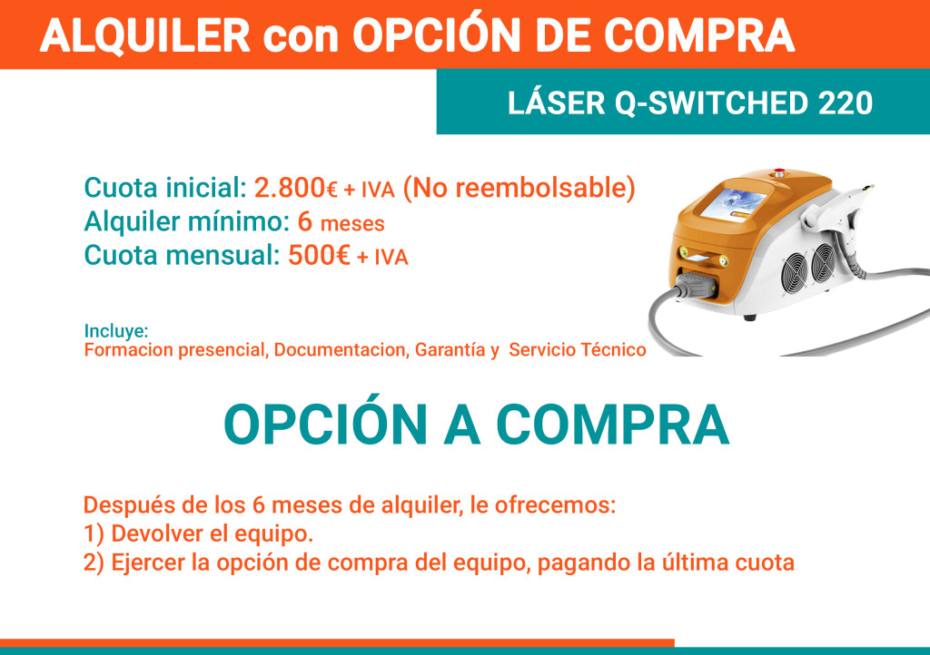 Alquiler con opcion a compra Q-Switched
